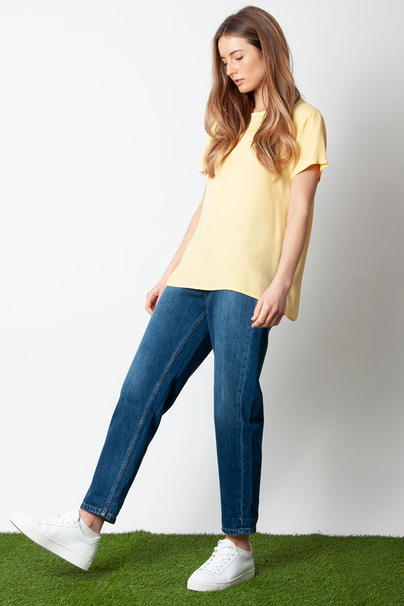 Ottod'Ame - Maglia T-Shirt in Yellow