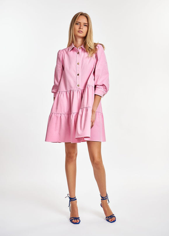 Essentiel Antwerp - Zuniyi Puffy Sleeve Shirtdress