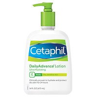 Cetaphil Dailyadvance Ultra Hydrating Lotion For Dry, Sensitive Skin, 16 Fl Oz - 2Pc