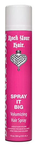 Rock Your Hair Spray It Big Volumizing Hairspray, 10 Ounce