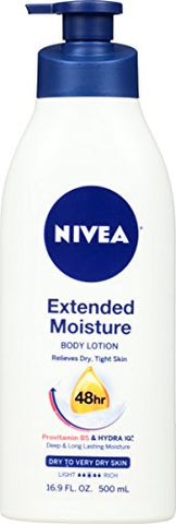 Nivea Extended Moisture Body Lotion 16.9 Fluid Ounce