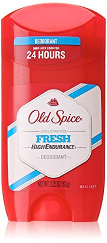 High Endurance Deodorant Long Lasting Stick Fresh By Old Spice, 2.25 Ounce
