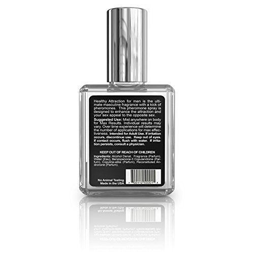 Healthy Attraction Extra Strength Pheromone Oil Infused Cologne For Men -  Made With Andronone And Copulandrone Pheromones For Maximum Sexual