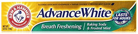Arm & Hammer Advance White Breath Freshening, Frosted Mint, 6 Oz
