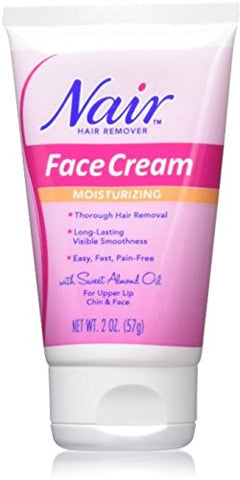 Nair Cream 2Z Size 2Z Nair Moisturizing Face Cream Hair Remover