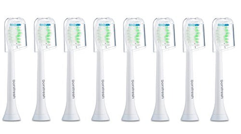 Sonifresh Toothbrush Heads, Diamondclean Sonic Replacement Heads For Philips Sonicare Electric Toothbrush,