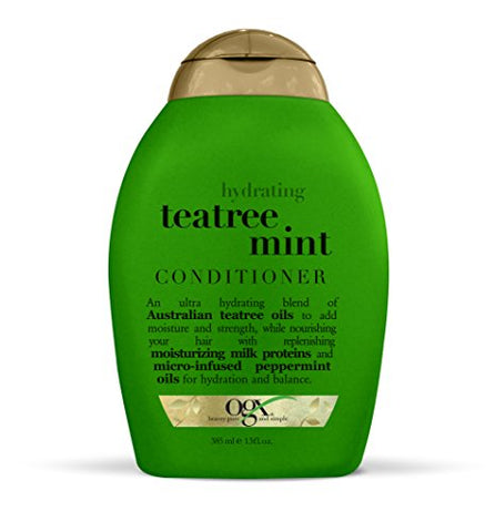 Ogx Conditioner, Hydrating Teatree Mint, 13Oz