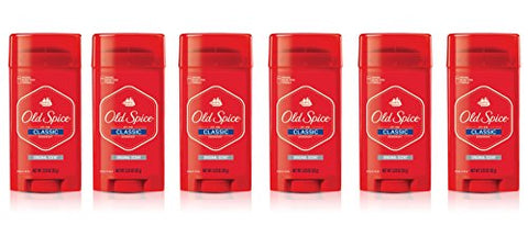 Old Spice Classic Deodorant , Original Scent, 3.25-Ounces
