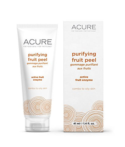 Acure Purifying Fruit Peel, 1.4 Ounce