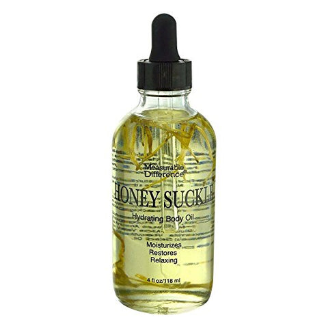 Measurable Difference Honeysuckle Face & Body Oil, 4 Fluid Ounce