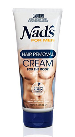 Nad'S For Men Hair Removal Cream, 6.8 Ounce