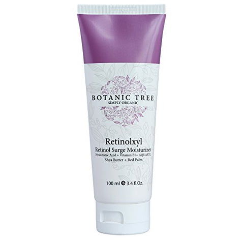 Retinolxyl Retinol Cream For Face And Eyes 3.4Oz-Anti Aging- 85% Of Customers Agreed They Saw Reduction In The Wrinkles And Fine Lines -100% Organic Extracts W/ Shea Butter,Vit B5,Red Palm.