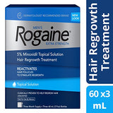 Rogaine Men'S Extra Strength Solution, 2 Oz.