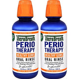 Therabreath Dentist Recommended Periotherapy Healthy Gums Oral Rinse, 16.9 Ounce