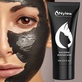 Blackhead Remover Mask [Removes Blackheads] - Purifying Quality Black Peel Off Charcoal Mask - Best Mud Facial Mask 60 Gram (2.11 Ounce) (Black)
