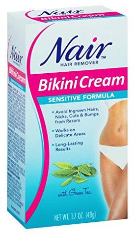 Nair Hair Remover Bikini Cream Sensitive 1.7 Ounce (50Ml)