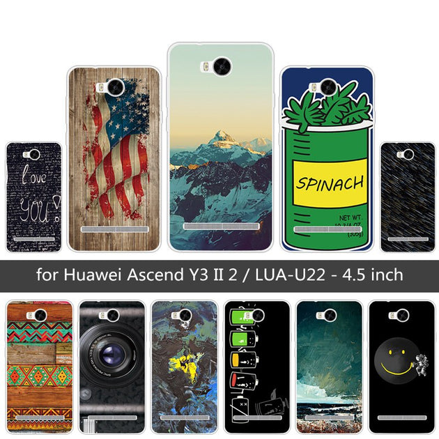 4 5 Inch Case For Huawei Y3 2 Protective Phone Case Soft TPU Cover For  Huawei Y3 II Y3II Heaven Back Cover Clear Slim Silicone