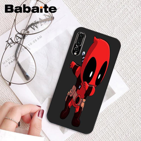 Babaite Marvel Deadpool Colorful Cute Phone Case For Huawei P9 P10 ...