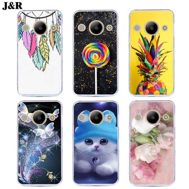 Cover Case For Huawei Y3 Y5 Y6 Y7 Y9 Pro Prime 2017 2018 2019 Y336 Y5II  Phone Cases 3D Painted Protective Back Covers