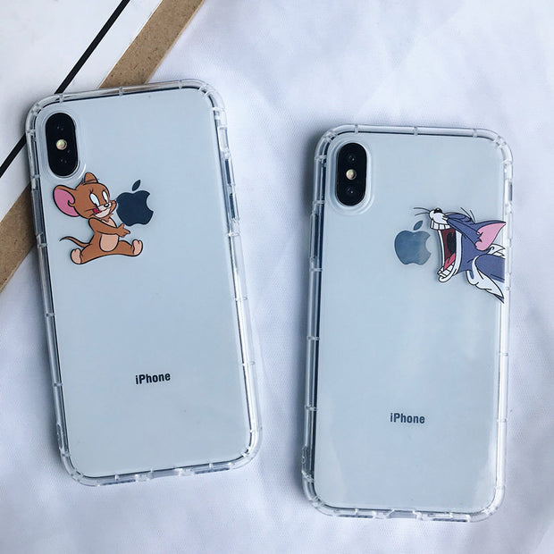 coque tom et jerry iphone xr