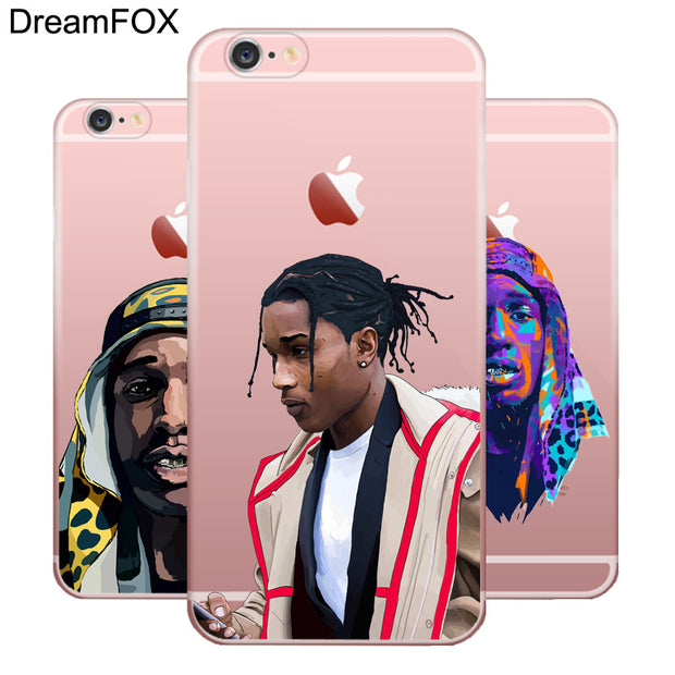 online store b0454 86966 DREAMFOX M382 Asap Ferg And Asap Rocky Soft TPU Silicone Case Cover For  Apple IPhone XR XS Max 8 X 7 6 6S Plus 5 5S SE 5C 4 4S