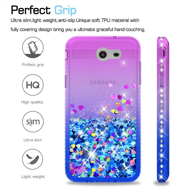 Diamond Glitter Case For Samsung Galaxy J3 Prime/J3 2017/J3