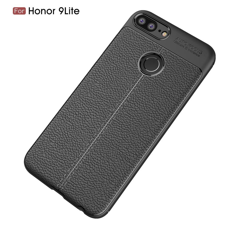 wholesale dealer really comfortable top quality For Huawei Honor 9 Lite Case Honor9Lite Cover 5.65inch Luxury Soft Leather  TPU Silicone Phone Case For Huawei Honor 9 Lite Coque