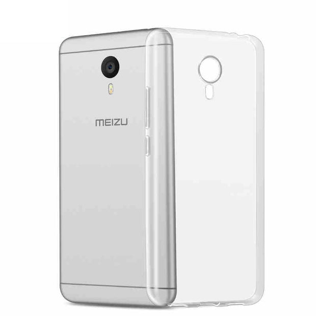 reputable site 24744 6f1bc For Meizu M3 Note Silicone Case Soft Slim Crystal Transparent Tpu Phone  Back Cover On M3Note Note 3 Melian Note3 M681c M681Q
