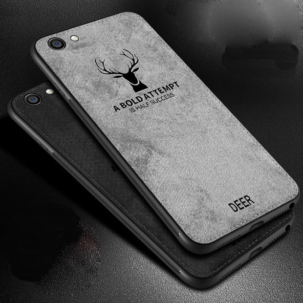 pretty nice 46d7f 51bc4 For Oppo A1601 F1s Case Luxury Animal Pattern Back Cover Cloth Deer Case  For Oppo F1s Ultra Thin Soft Silicone Fundas Coque Capa