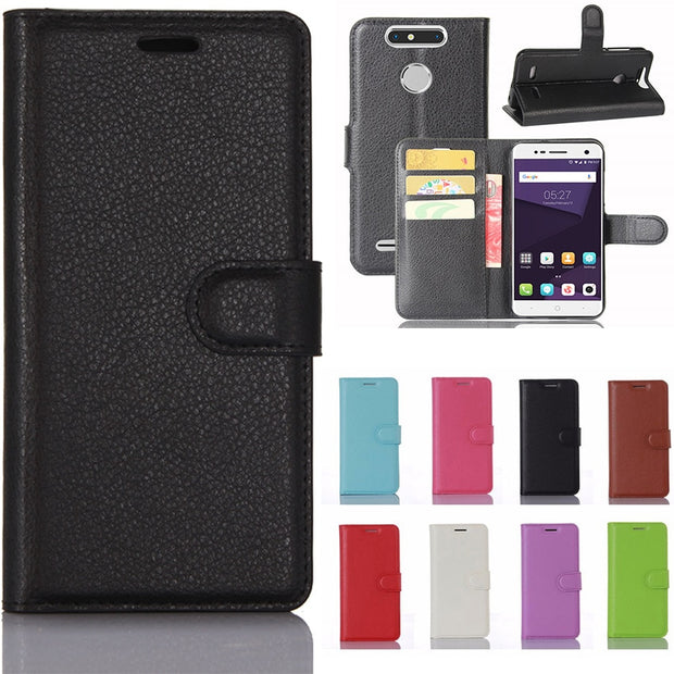 super popular da38f bb982 For ZTE Blade V8 Mini Case Vertical Flip Cover PU Leather Case For ZTE  Blade V8 Mini Cover Phone Bag With Photo Frame Card Slot