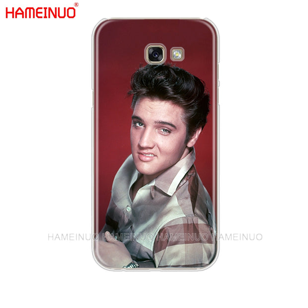 new style ec319 a7a11 HAMEINUO Elvis Presley Kiss Luxury Cell Phone Case Cover For Samsung ...