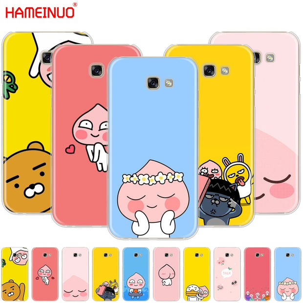 Hameinuo Korean Cartoon Funny Cocoa Friend Cell Phone Case Cover For S The Big Cat Cases
