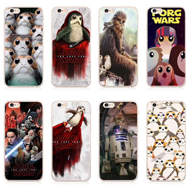 Kuliai R2D2 BB8 Star Wars Coffee Stormtrooper Darth Vader Soft Silicon  Phone Cases Cover For Iphone 7 6S 6 8 Plus 5S SE X Cover