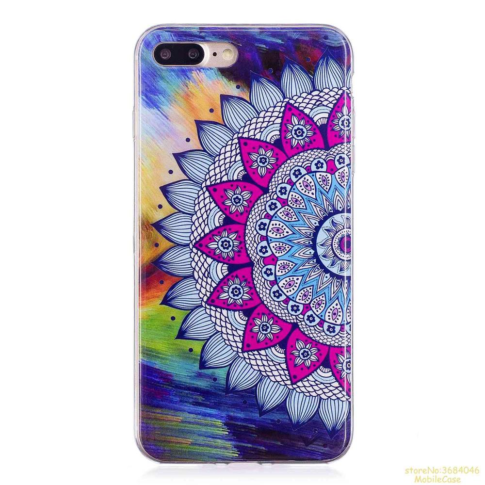 Luminous Patterned IMD TPU Back Case