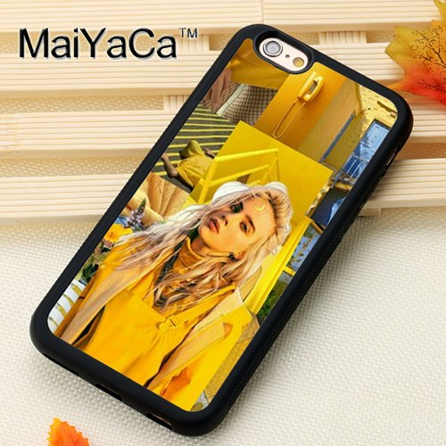MaiYaCa Billie Eilish Lovely Hot Music Singer Star Soft TPU Phone Cases For  IPhone 6 6S 7 8 Plus XS Max XR 5 SE Back Cover Shell