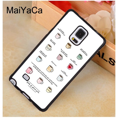MaiYaCa Gilmore Girls Coffee Quote Soft TPU Phone Case Cover Coque For Samsung S4 S5 S6 S7 Edge S8 S9 Plus Note 9 8 5 4 Capa