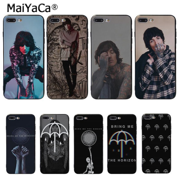 MaiYaCa Oliver Sykes Bring Me the Horizon bmth Custom Photo Soft Phone Case for iPhone 8 620x
