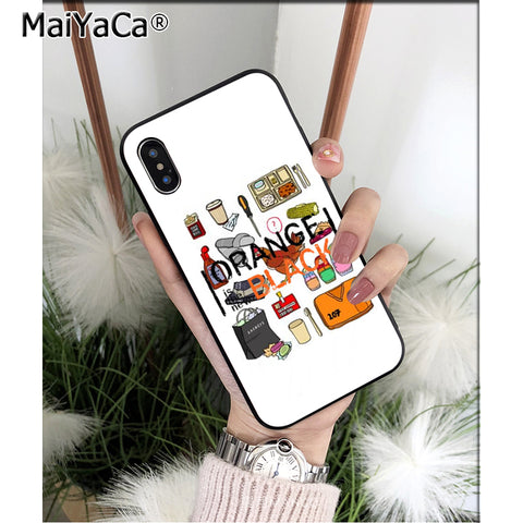 MaiYaCa Orange Is The New Black Colorful Cute Phone Accessories ...