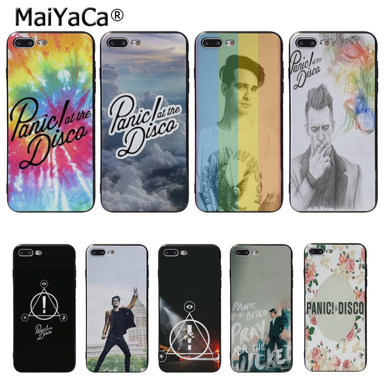 panic at the disco phone case iphone 7