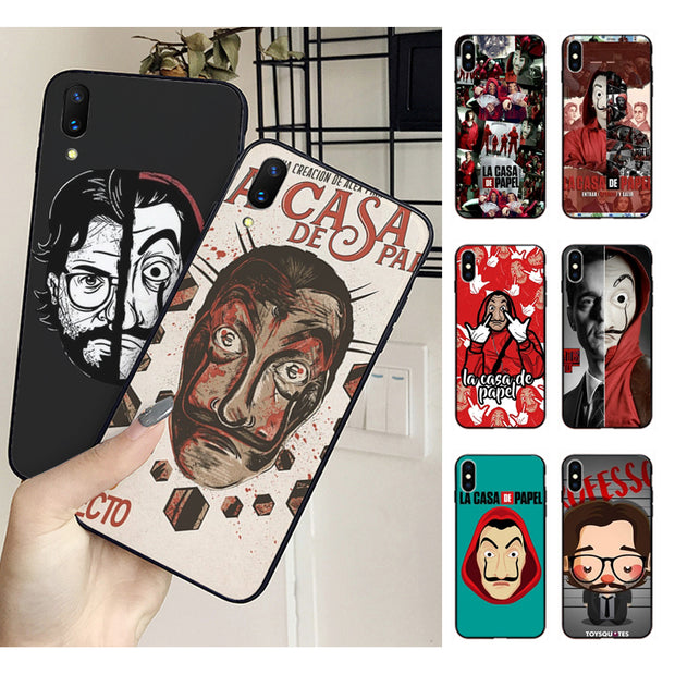 coque iphone xs max casa de papel