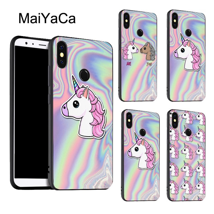 HOLOGRAPHIC TPU Case For Xiaomi