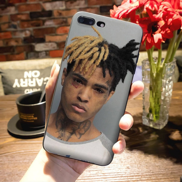 Maiyaca Xxxtentacion Fashion Design Skin Thin Black Cell Case For Ipho The Big Cat Cases