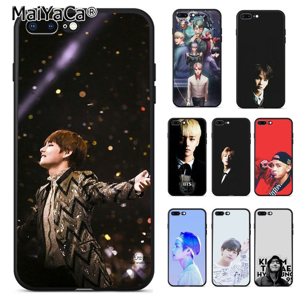 BTS Bangtan Boys Taehyung RUN 2 iphone case