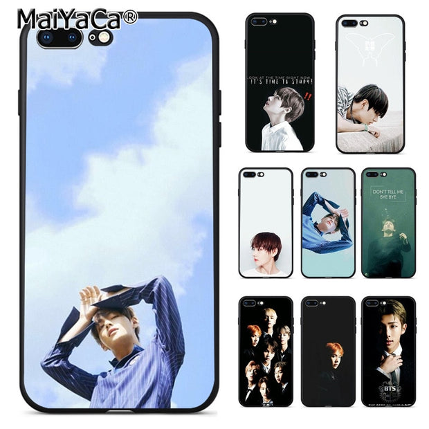 BTS Bangtan Boys Taehyung RUN 3 iphone case