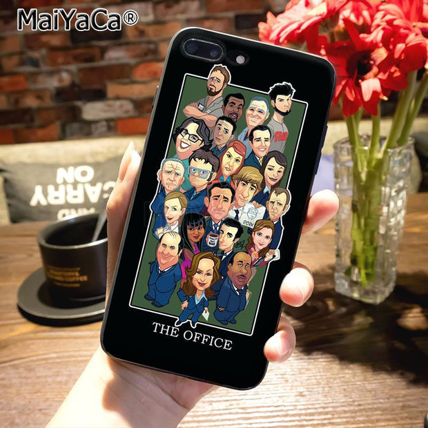info for 77d21 5d878 MaiYaCa The Office Cast Meme Michael Scott Tv Cool Phone Accessories ...
