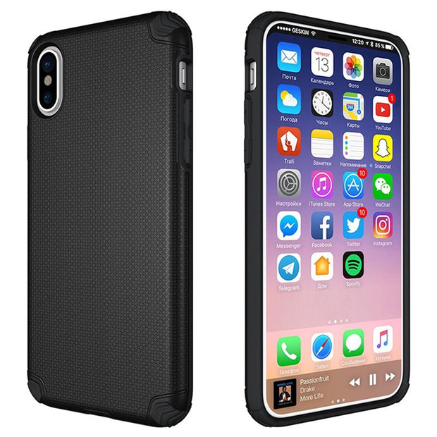 buy online e1269 913b4 Novel Football Lines Integrated Phone Cases For IPhone X Custom Lightweight  Phone Back Cover For IPhone X Protective Shell