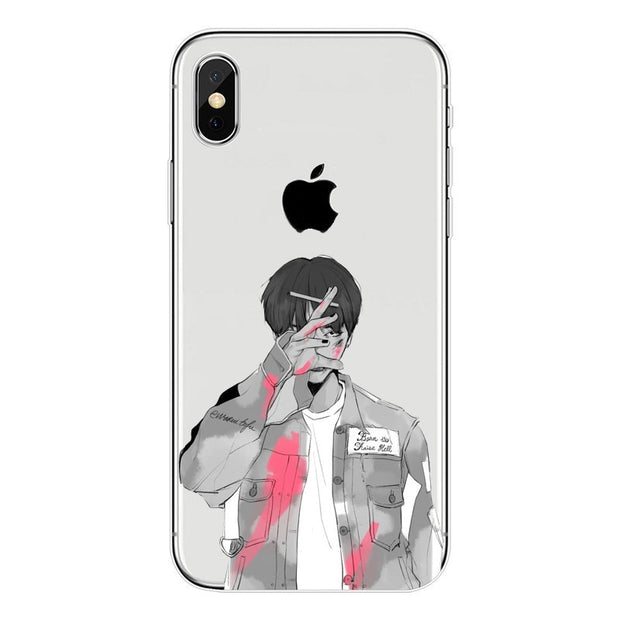 Phone Cases Bts Bangtan Boys Cute Cartoon For Iphone X 10 5 5s Se 6 6s 7 8 Plus High Quality Clear Soft Tpu Silicone Coque Cover Clothes, Shoes & Accessories Boys' Shoes