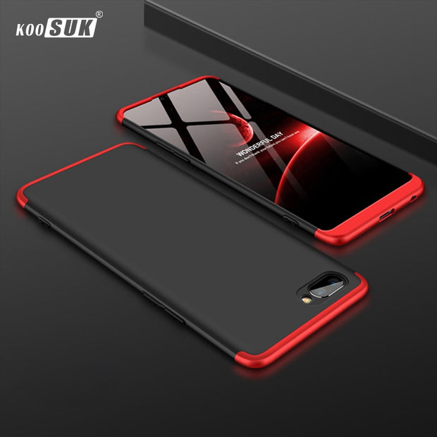 info for 57bf3 75582 Realme 1 Case For OPPO Realme C1 Cover 360 Full Protection Shockproof Hard  PC Phone Shell SFor OPPO Realme C 1 Fundas Coque Capa