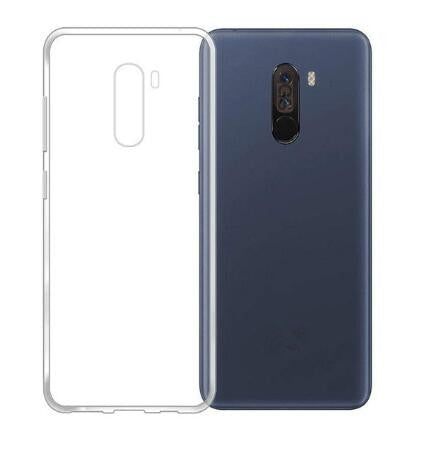 check out 266e1 0bd74 Silicon Soft TPU Case For Xiaomi Pocophone F1 Clear Phone Case For Xiaomi  Pocophone F1 Global Version 6.18 Protective Case