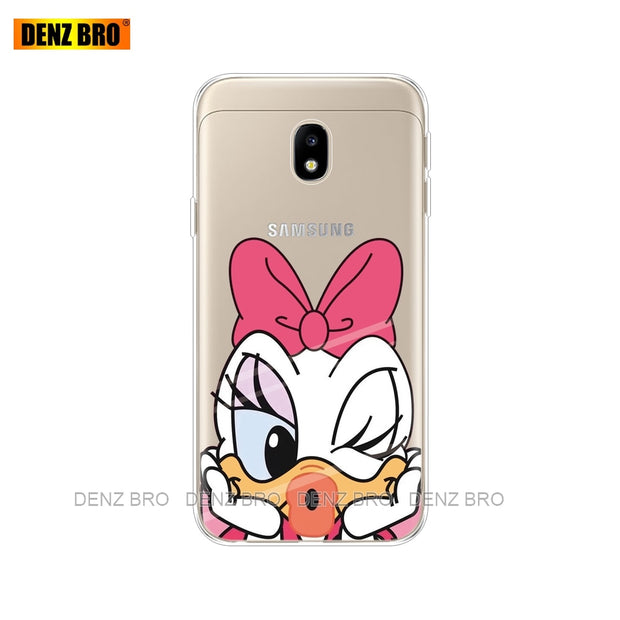 Silicone Phone Case For Samsung Galaxy J5 2017 J530F J5 Pro 2017 Cases Soft  TPU Silicon Shell Cover For Samsung J5 2017 J530